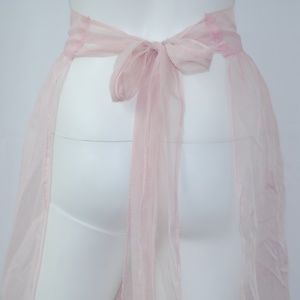 Other - Blush Pink Sheer Cover Up OSFM